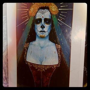 Madame Zombie- original print by local artist